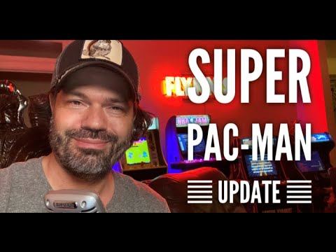 Arcade1up Costco Super Pac-Man Software Patch Update and Review 2.0 from Evryday Erik