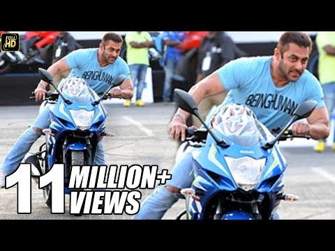 Salman Khan Riding Sports Bike In Public