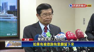 楊明州留任韓國瑜小內閣?  許立明:鼓勵支持-民視新聞