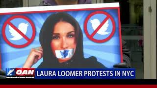 Laura Loomer protests in NYC