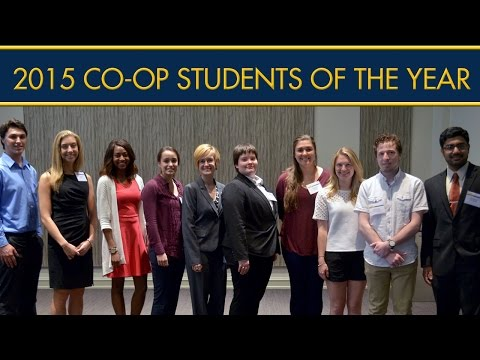 Drexel Named These Students CO-OP of the Year for 2015