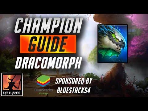 RAID: Shadow Legends | DRACOMORPH CHAMPION GUIDE | Sponsored by Bluestacks & Vikings: War of Clans
