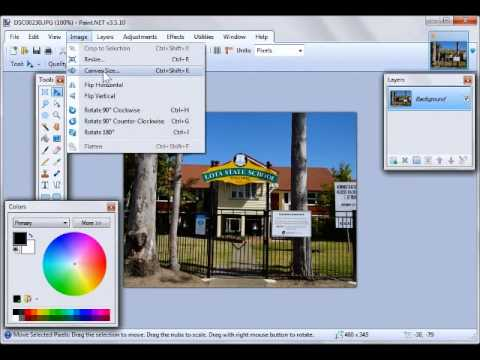 Creating a gaussian blur with Paint.Net - YouTube | 480 x 360 jpeg 20kB