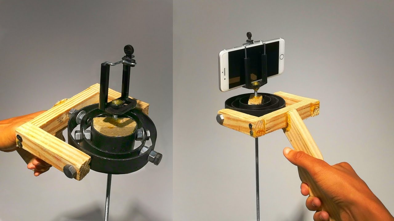 Video Camera Stabilizer >> DIY Stabilizer Gimbal for Action Camera/ Smartphone | Part ...