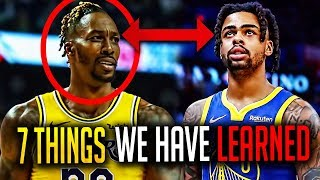 7 Things We Have Learned From The First Month - NBA 2019-20 Season