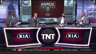 Cavaliers vs Raptors Game 1 Postgame Analysis NBA Playoffs | Inside The NBA | May 1, 2017