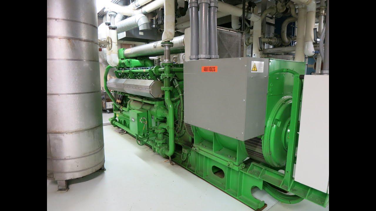 Jenbacher 320JS Natural Gas Generator Set 1095 kW Stock