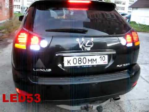 Светодиодные фонари на Лексус RX 300