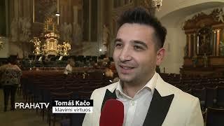 Tomáš Kačo zahrál v kostele sv  Šimona a Judy
