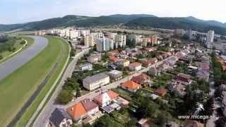Sihoť Trenčín (letecký pohľad)