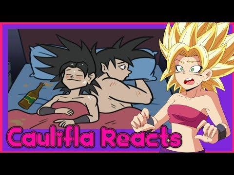 Caulifla Reacts to Caulifla vs Goku the Player