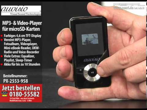auvisio MP3- & Video-Player
