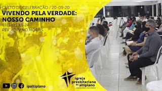 Culto de Celebração - IP Altiplano - 20/09