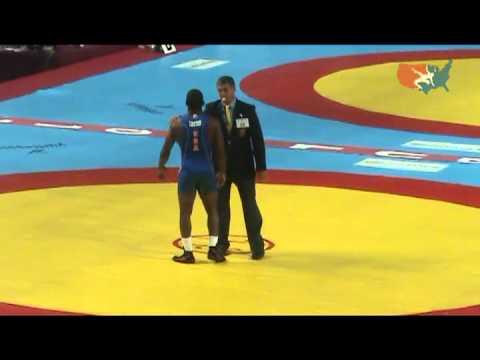 2011 Worlds Greco 66kg Bronze - Isaac Mulens Herrera (CUB) vs. Justin Lester (USA)