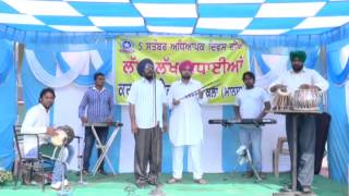 Ajaib Singh Sangati wala || Song Tezab ||Recording sur taal Studio Mour || Music Rupinder jaid