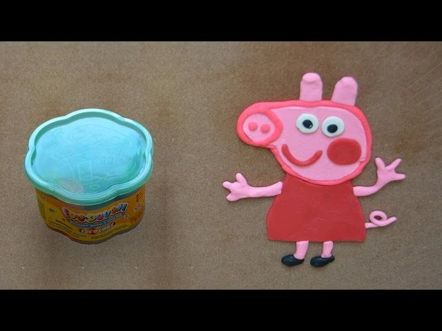 Como hacer Peppa Pig en plastilina Travel Video