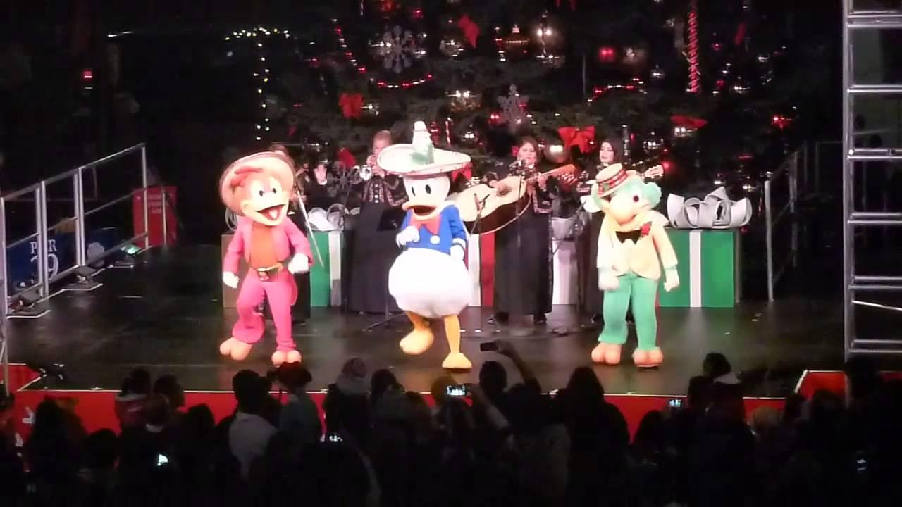 The Three Caballeros perform El Jarabe Tapatio at Pier 39 Tree Lighting Celebration - YouTube & The Three Caballeros perform El Jarabe Tapatio at Pier 39 Tree ... azcodes.com