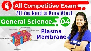 2:45 PM - All Competitive Exams | General Science by Shipra Ma'am | Plasma Membrane