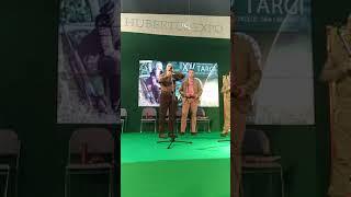 Szlachetna sztuka wabienia jeleni Hubertus Expo 2018 głos młodego byka