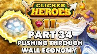 Clicker Heroes 2 Beta: Part 34 - PUSHING THROUGH WALL ECONOMY! - Walkthrough / Gameplay PC