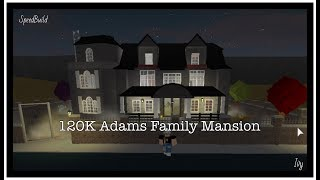 Adams Family Mansion | Roblox Bloxburg | 120K |