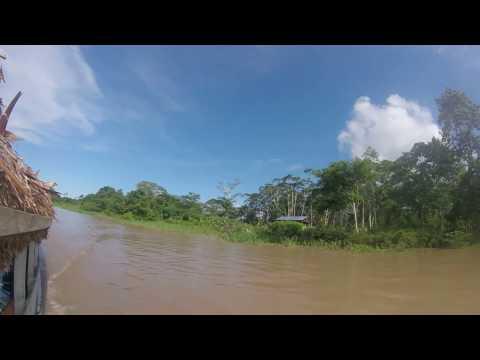River Amazon River Amazon Iquitos Peru Landscape - ESL British English Pronunciation