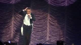 Robbie Williams -  Shine My Shoes - Prague Praha 2014
