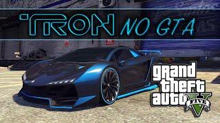 GTA V: Como criar o carro do filme Tron! Pinturas Diferenciadas