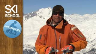 Intermediate Ski Lesson #3.3 - Rounded Turns to Control Speed