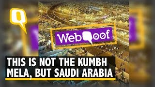 Viral Post Claims This is Kumbh Mela, Not Saudi, But Saudi It is! | The Quint
