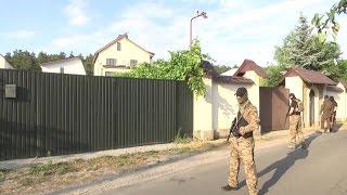 Альфа вместе с ГПУ и СБУ проводит обыск в доме судьи Чернушенко