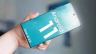 Samsung One UI 3.0 Android 11 Has Arrived.
