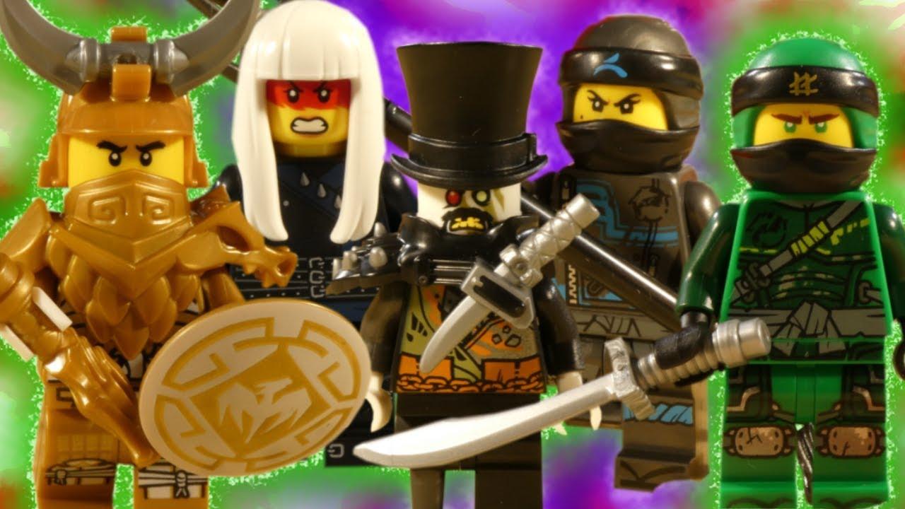 LEGO NINJAGO HUNTED - ULTIMATE BATTLE COMPILATION