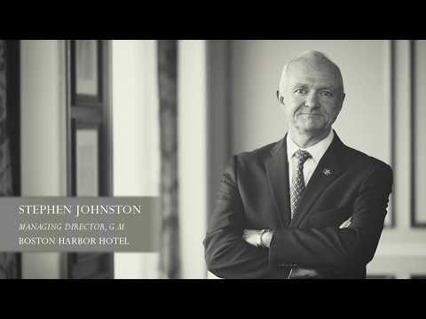 Stephen Johnston - Managing Director and General Manager of the Boston Harbor Hotel