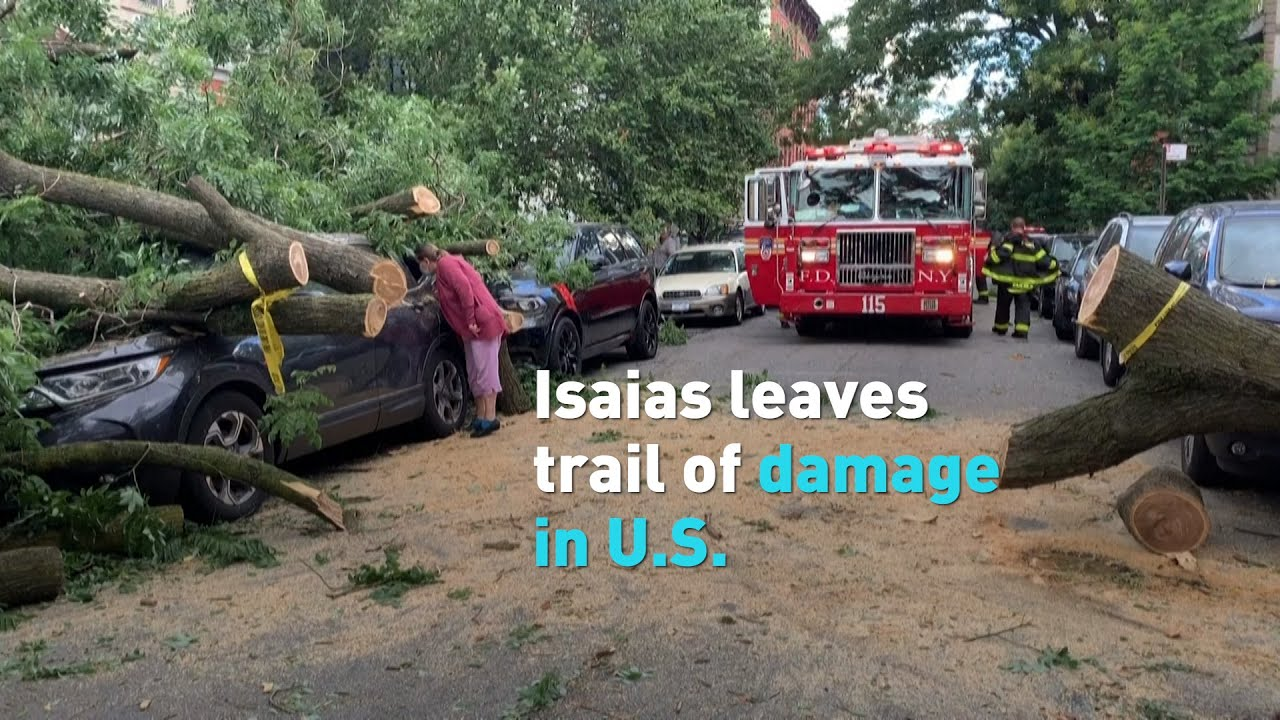 Isaias leave trail of damage in U.S.