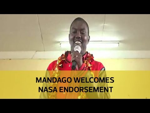 Mandago welcomes NASA endorsement
