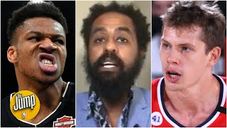 The Jump reacts to Giannis Antetokounmpo head-butting Wizards' Moritz Wagner