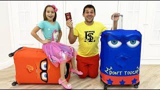 صوفيا وأبي ذاهبان في جولة عائلية جديدة! قصة ممتعة عن رحلة إلى البحر