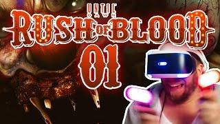 DIE VR GEISTERBAHN ★ 01 • Let's Play Until Dawn: Rush of Blood