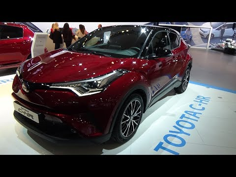 2018 Toyota C-HR 1.8 VVT-i Hybrid - Exterior and Interior - Auto Show Brussels 2018