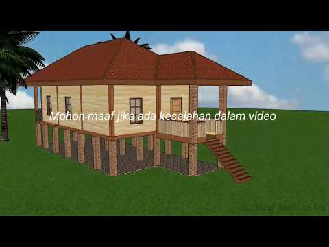88 Gambar Rumah Sederhana Panggung Minimalis HD