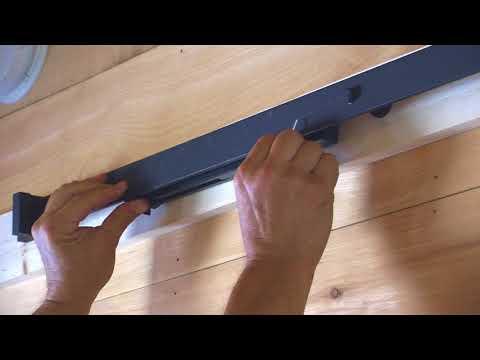 Barn Door Soft Close Installation - Rustic Rolling Doors