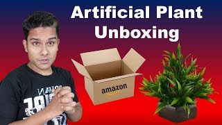 Artificial Bamboo Leaves Plant Unboxing | One of The Best Artificial Plant For Decoration [Hindi]