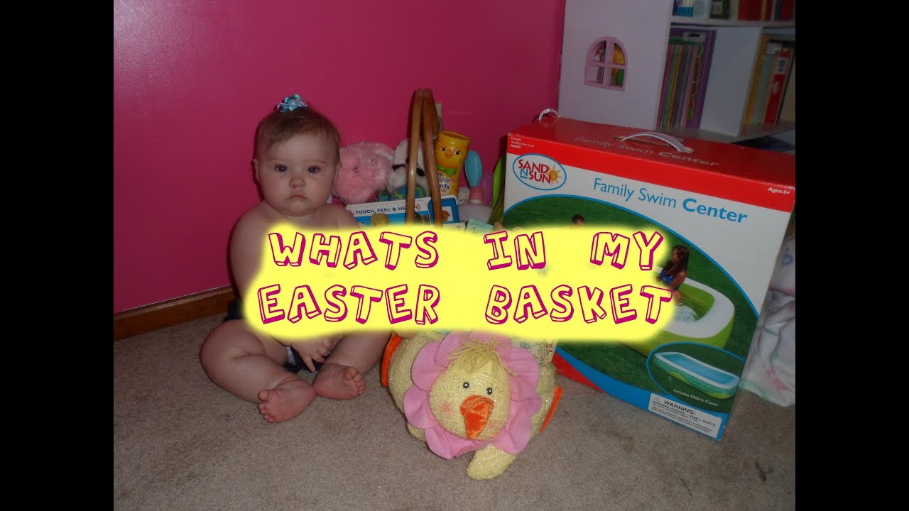 Whats in amelias easter basket 7 months old youtube whats in amelias easter basket 7 months old negle Images