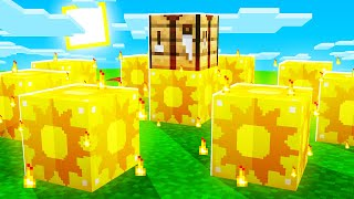 Minecraft Sun LUCKY BLOCKS with SkyDoesMinecraft \u0026 JeromeASF (Hunger Games)