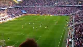 Abpfiff Emotionen Köln vs Dortmund 2:1 18.10.2014