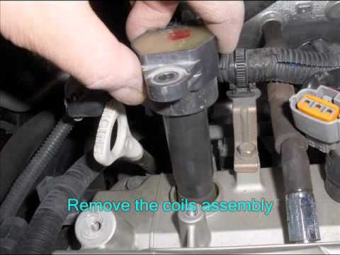 How To Replace 2003, 2004, 2005 & 2006 Mitsubishi Outlander PCV Valve & Spark Plugs