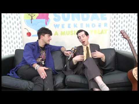 Pokey Lafarge talks to Global Cool at Summer Sundae