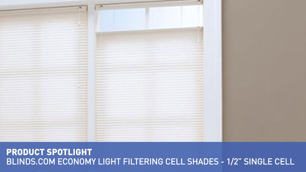 Blinds Spotlight Blinds Economy Light Filtering Cellular Shades Product Spotlight
