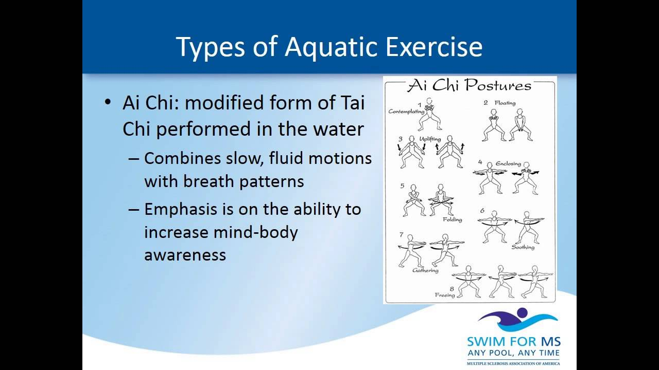 Discovering Aquatic Exercise & MS - YouTube